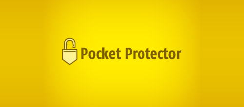pocket padlock logo