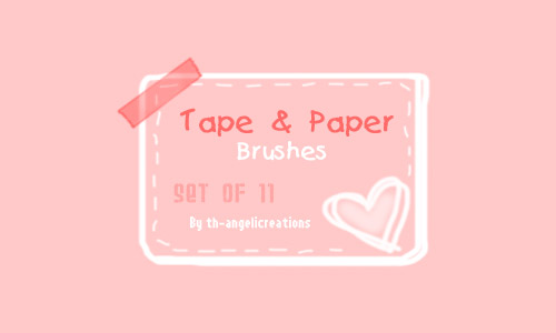 tape paper brushes free