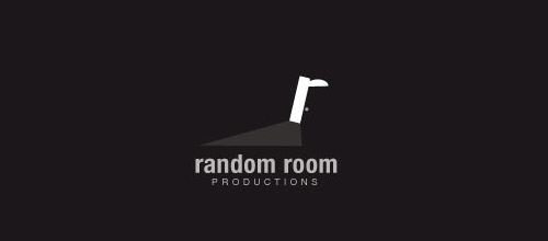 random room door logo