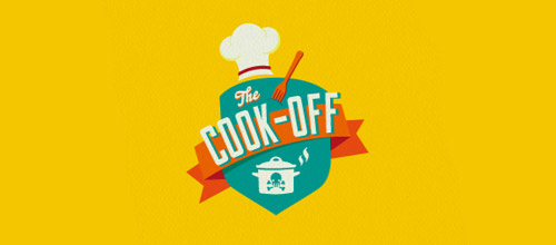 cook off chef hat logo