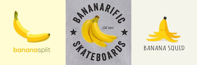 40 Nifty Banana Logo Designs For Inspiration