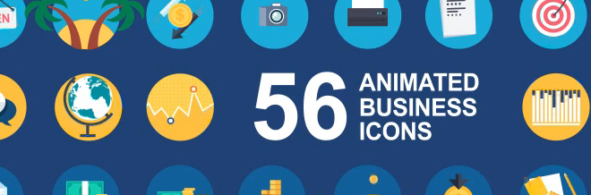 40 Premium Flat Animated Icon Sets You Should Grab