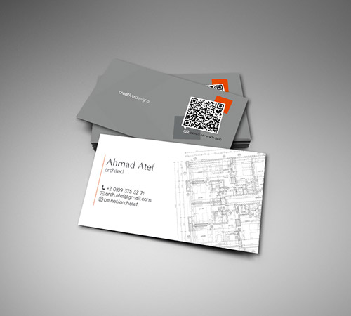 Superbe Architect Business Card