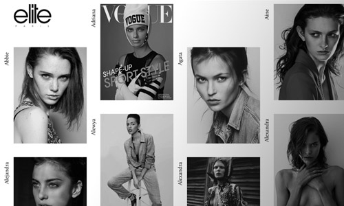elite model greyscale website