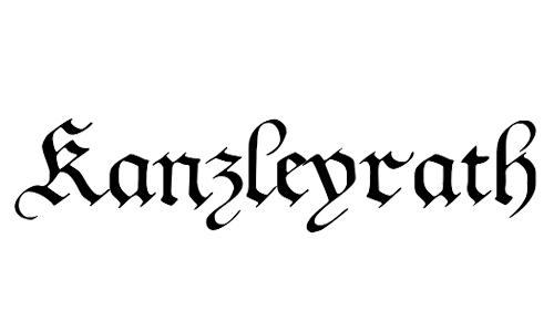 gothic blackletter font