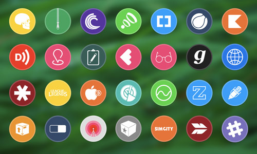 free circular icons