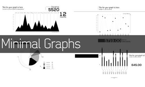 minimal infographic elements