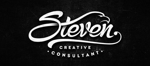 steven script logotype