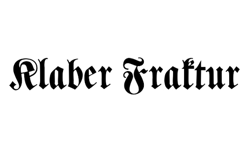 nice blackletter font