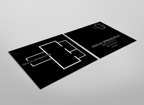 square architect card
