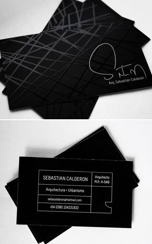 architect bcard design