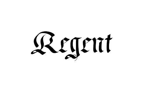 regret blackletter font