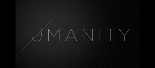 umanity thin logo