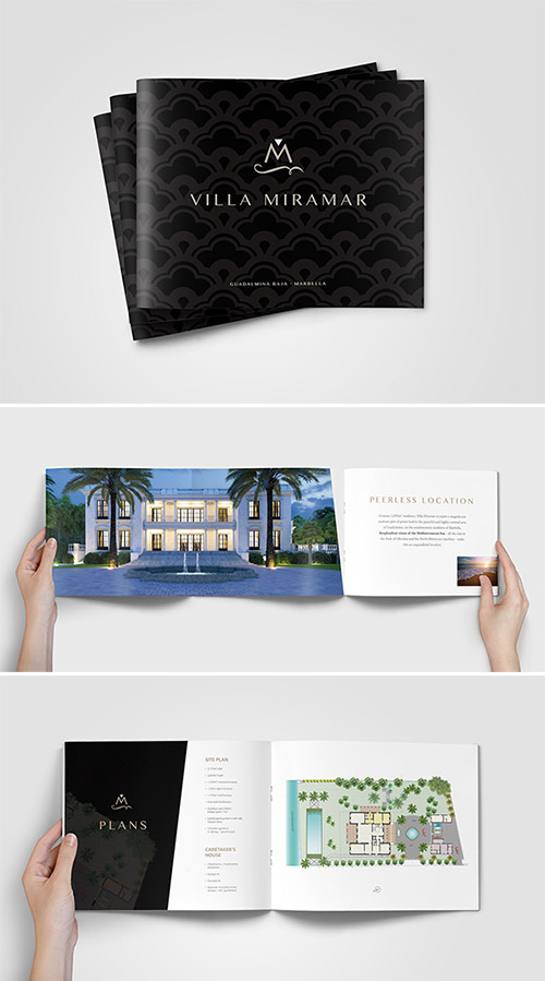 villa property brochure