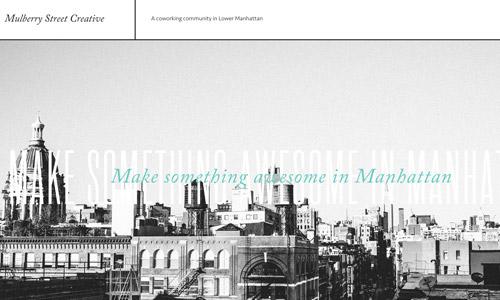 creative greyscale website