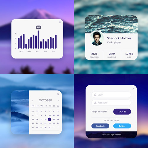 neat mobile ui kit
