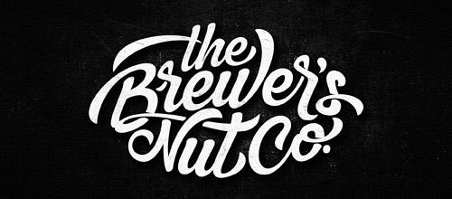 script logotype grunge