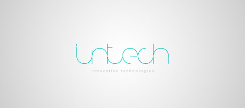 intech thin line logo