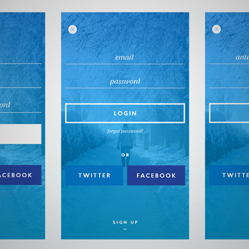 winter ui kit free