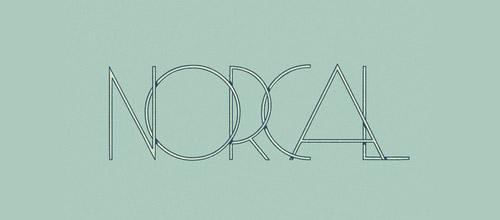overlap logotype  design