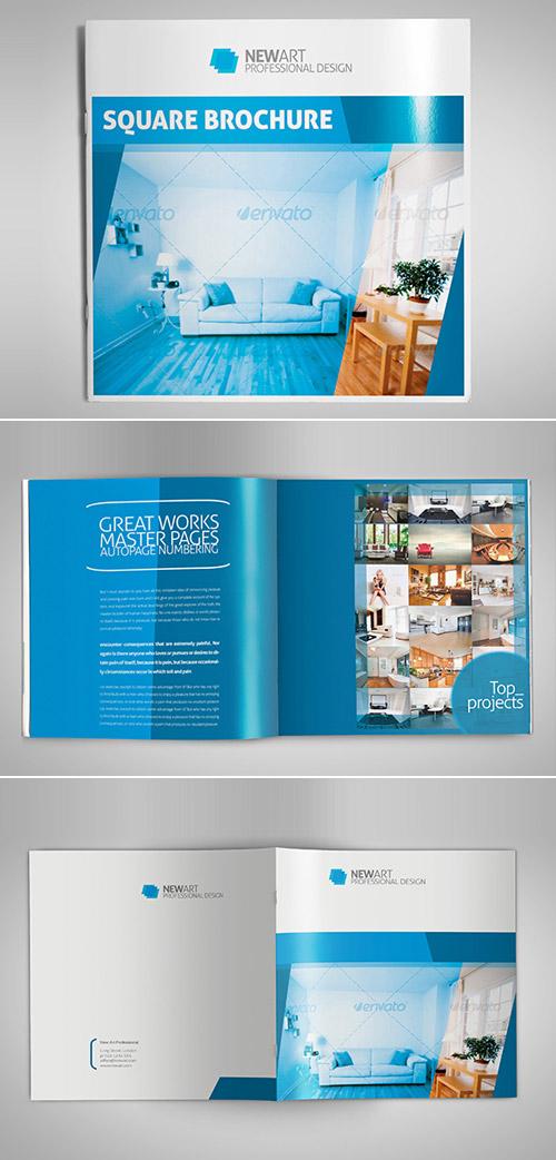 print square brochure