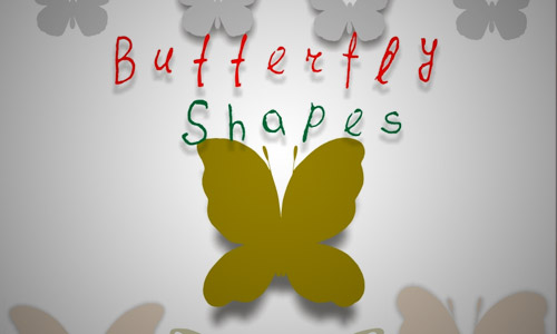 butterfly custom shapes