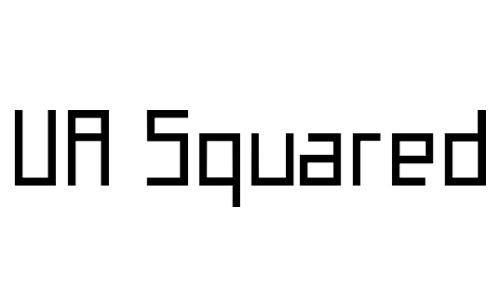 squared fonts free