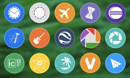 app icon circle