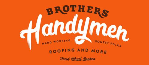 handymen vintage logo