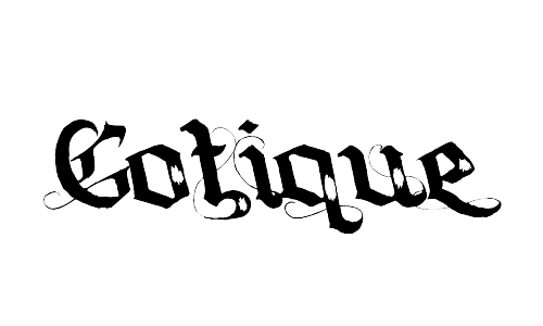 gotique blackletter fonts