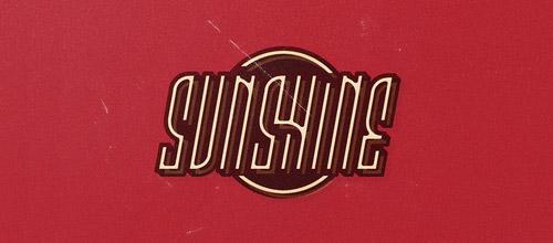 sunshine vintage logo