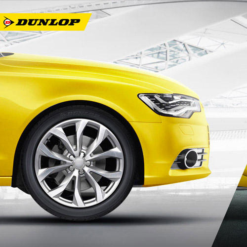 Dunlop animated website