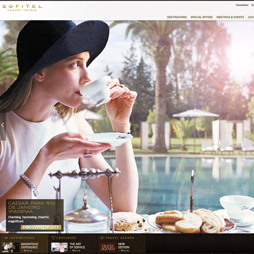 Sofitel resort website