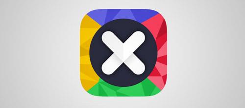 app logo low poly