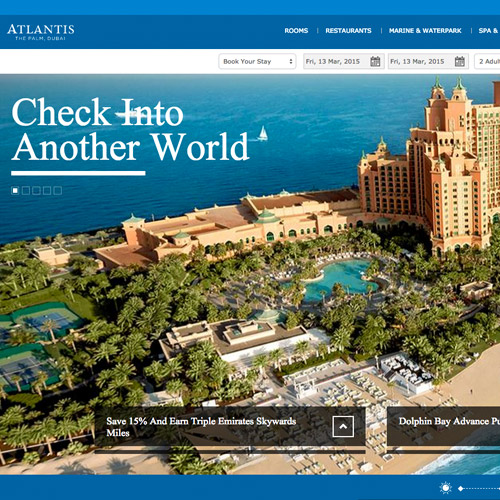 atlantis web design