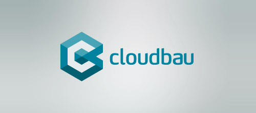 cloudbau hexagon logo