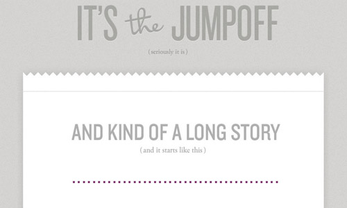 jump off gray website