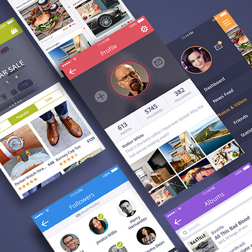 sketch mobile ui kit