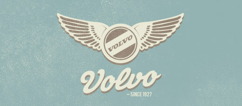 Volvo vintage logo