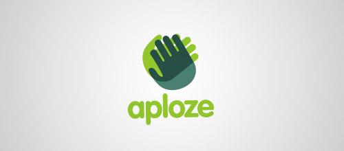 hand overlapping logo