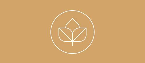 seed thin line logo