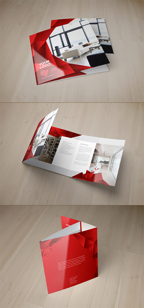 square interior design brochure