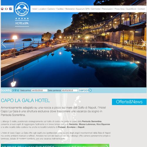 capo gala web design