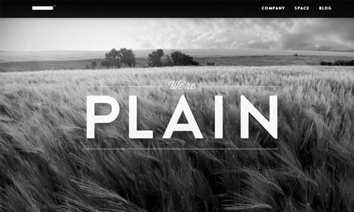plain made grey webdesign