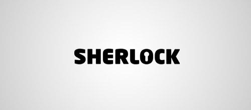 Sherlock keyhole logo