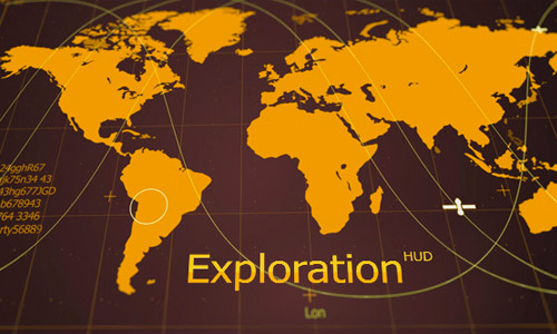 exploration infographics elements