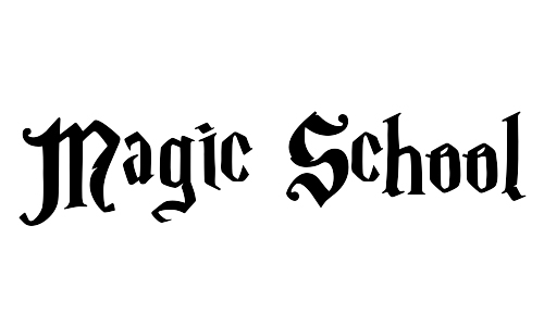 magic school blackletter fonts