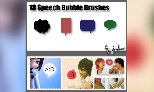 cool speech bubble brushes
