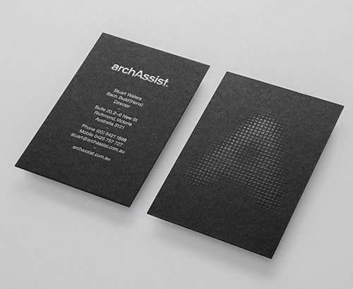 archassist business card design