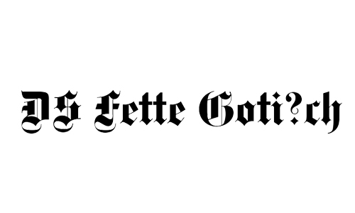 fetter blackletter fonts